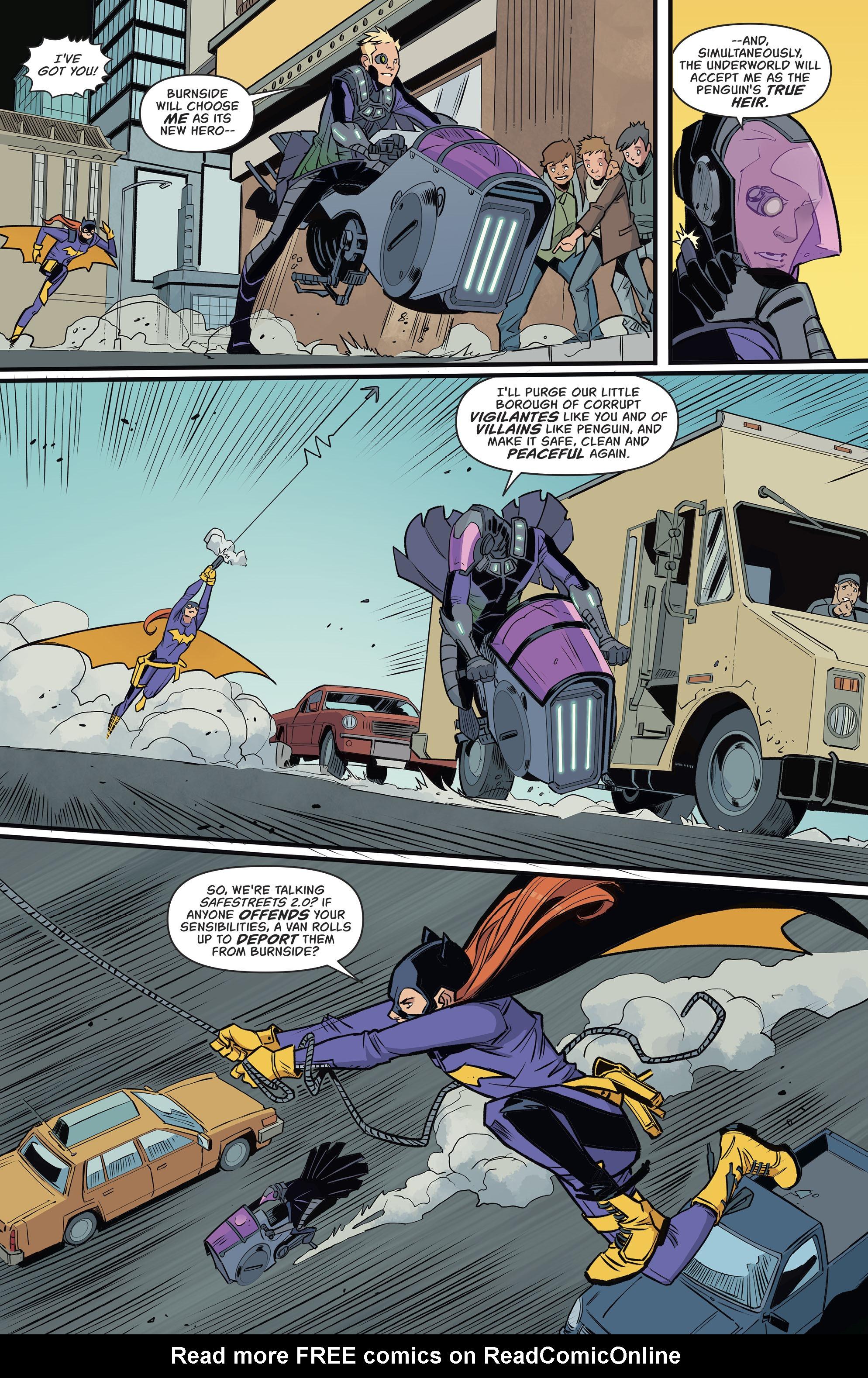 Read online Batgirl (2016) comic -  Issue #11 - 10