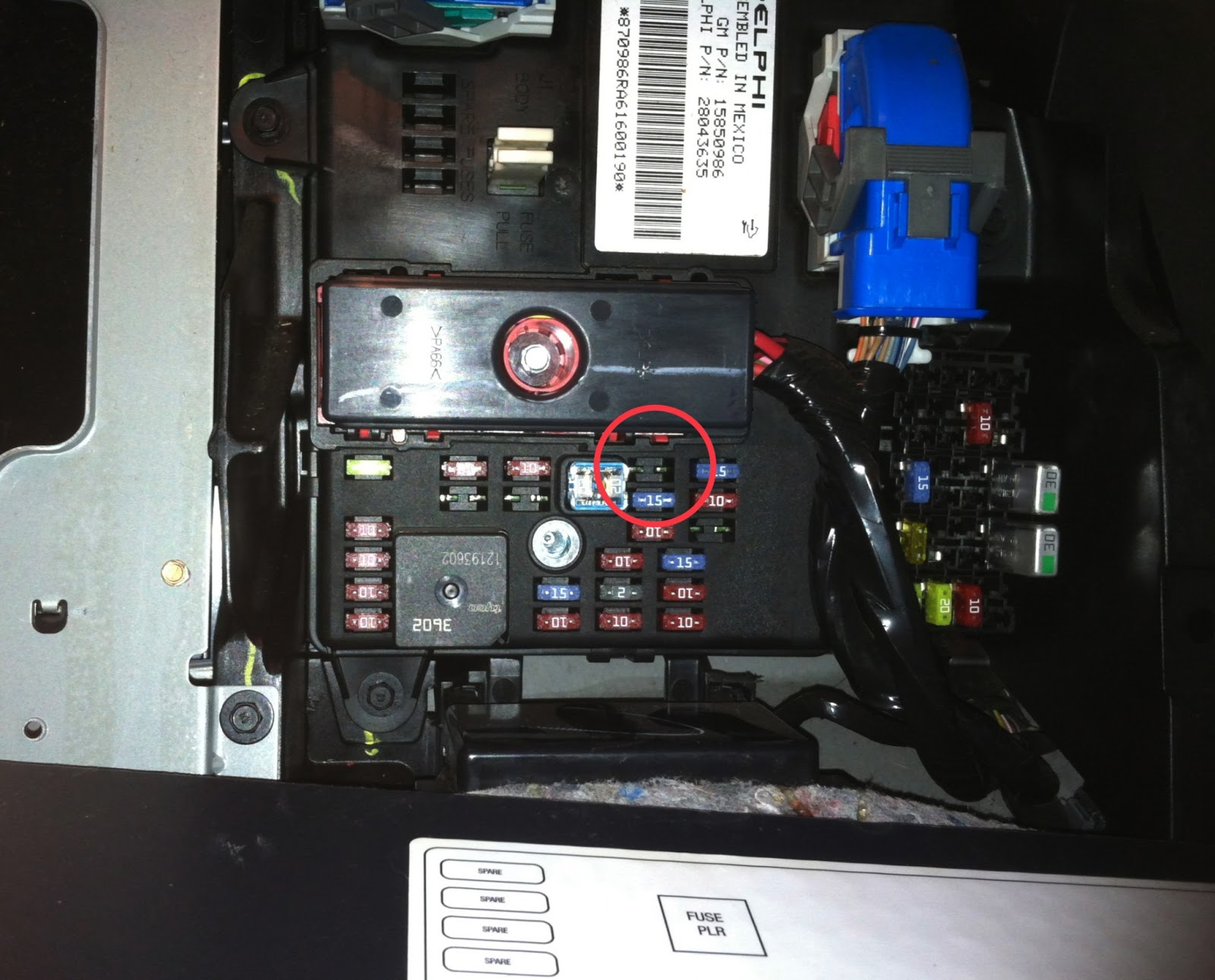 medium resolution of  h2 fuse box corvette switched accessory power