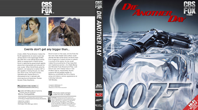 Die Another Day Bluray Cover