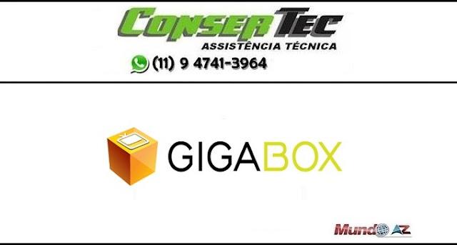Novas atualizações Gigabox SKS 58W