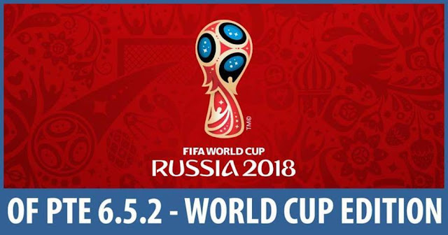 Option file PTE 6.5.2 World Cup 2018 Edition PES 2017