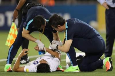 Son Heung-min breaks his arm