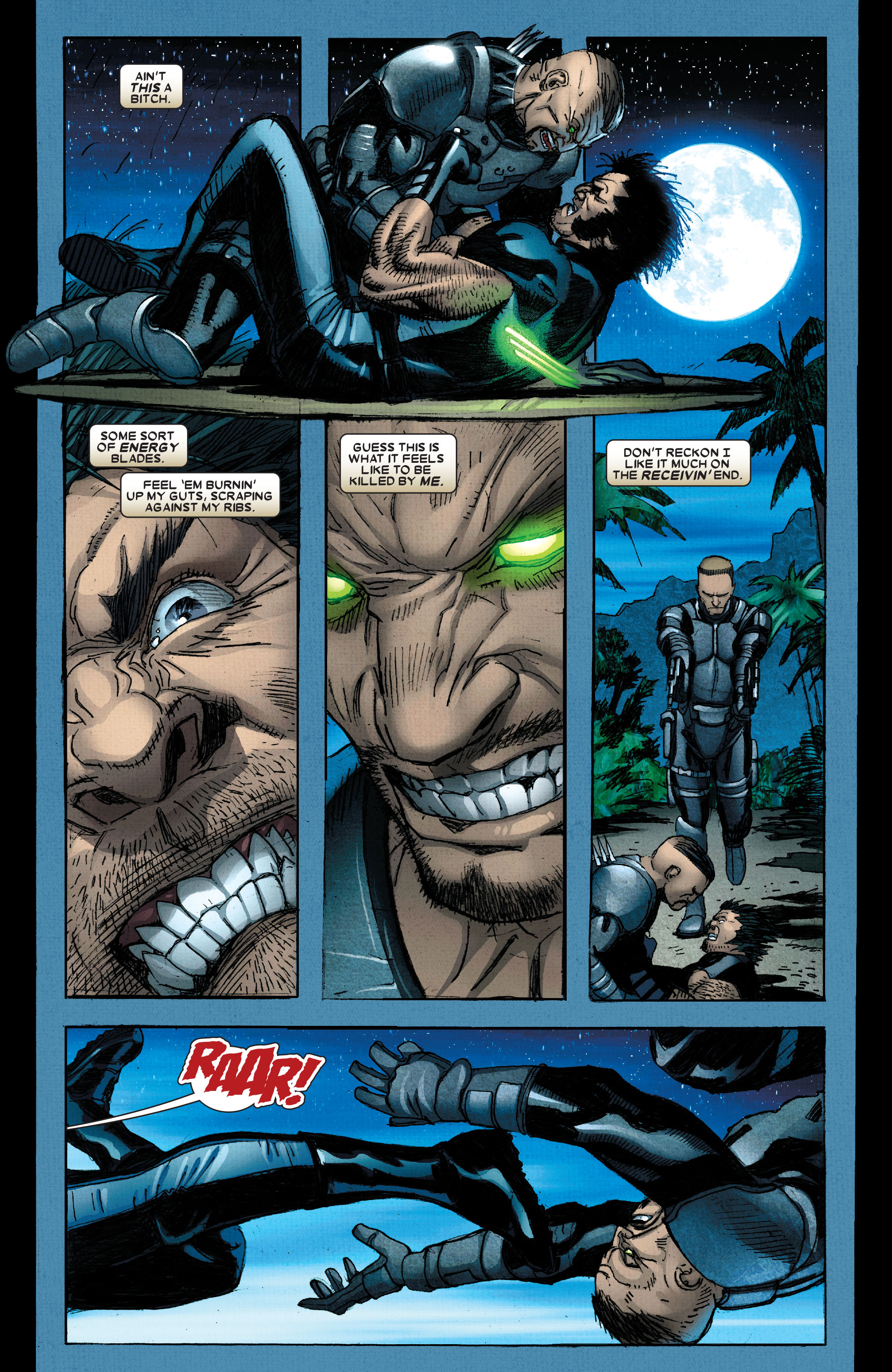 Read online Wolverine: Weapon X comic -  Issue #2 - 17