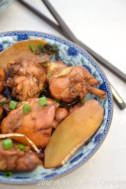 Poulet à l'huile de sésame (Ma you ji)