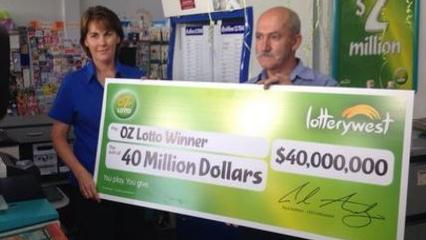 Biggest Oz Lotto Jackpot Record - $112 Million