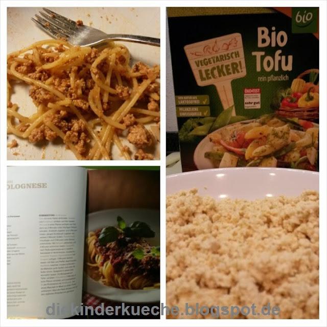 Rezept für vegetarische Bolognese
