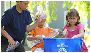 Resultado de imagen de reciclar niños pequeños