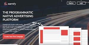 Earnify Situs Penyedia Iklan Native Ads Terbaik Untuk Blog
