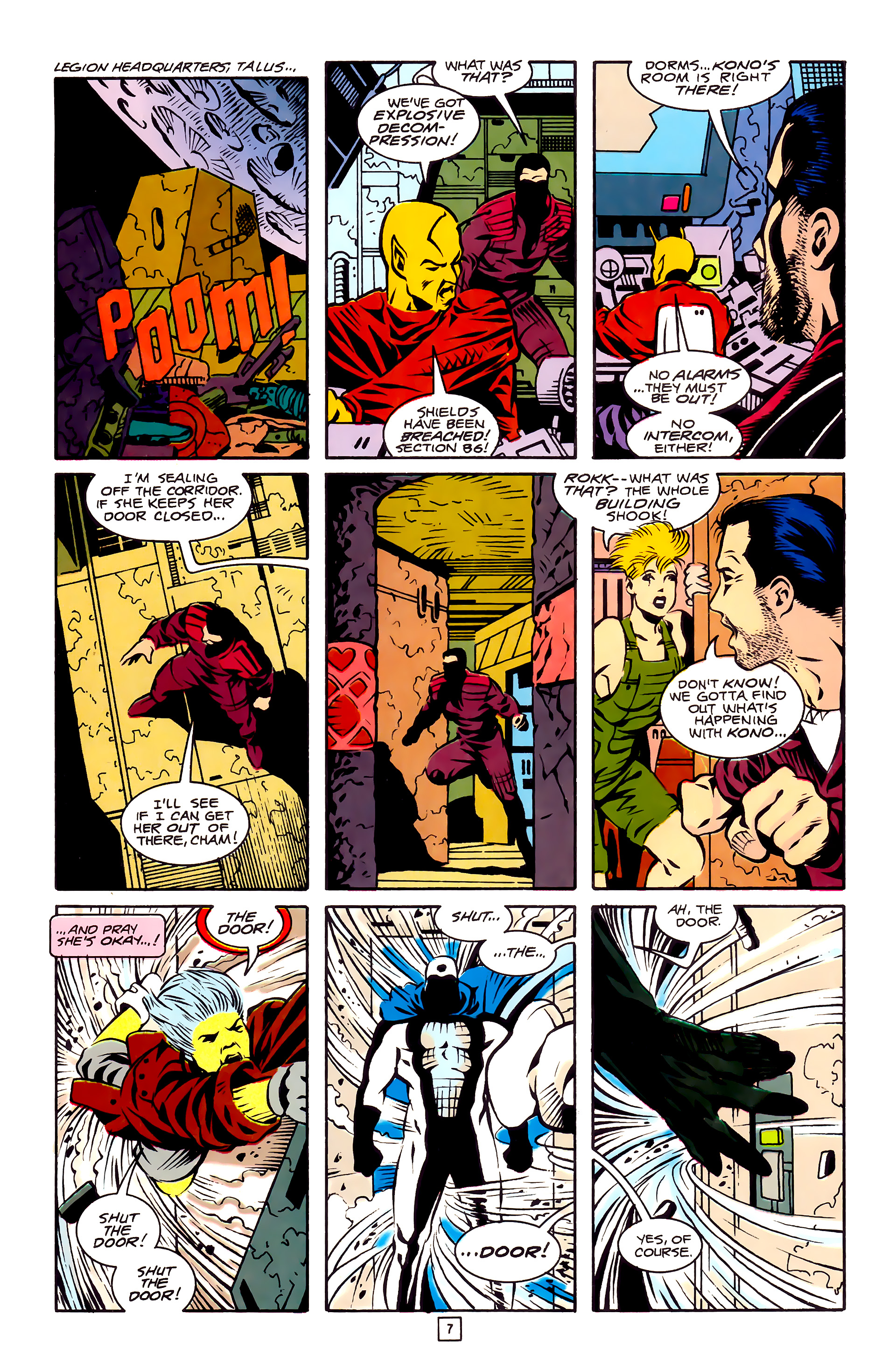 Legion of Super-Heroes (1989) 27 Page 7