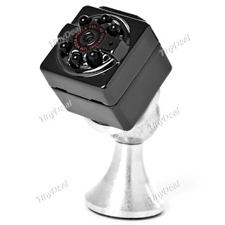 SQ9 1080P 12MP Action Camera Magenetic Mini Car DVR w/ Night Version