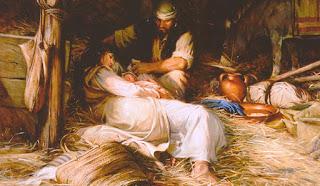 os anjos foi no nascimento de jesus cristo