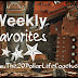 Weekly Favorites April 2017 Week 1