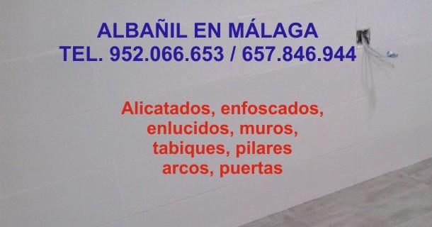 Albañil en Malaga