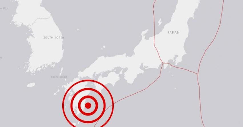 Terremoto en Japón de Magnitud 6.3 Grados y Alerta de Tsunami (Hoy Viernes 10 Mayo 2019) Sismo - Temblor - EPICENTRO - Kyūshū - Miyagi - USGS