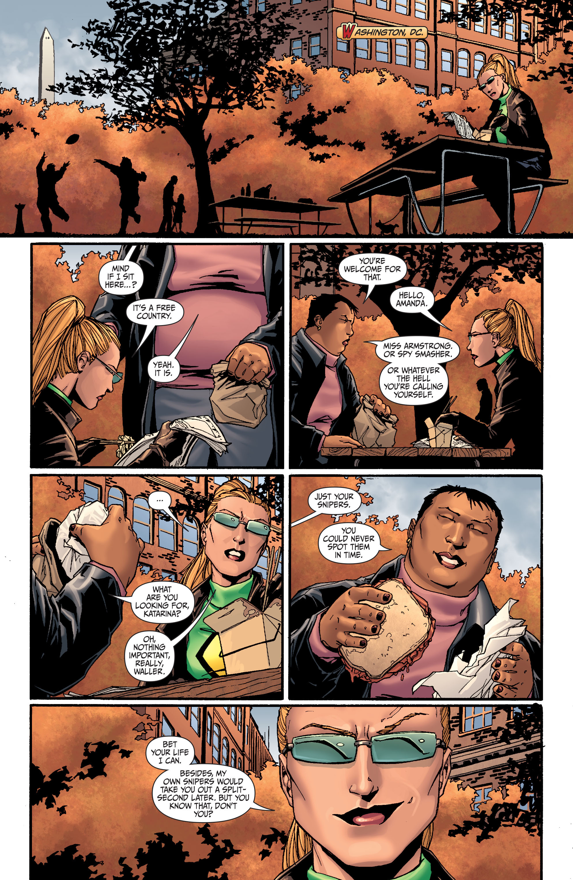 Read online Secret Six (2008) comic -  Issue #26 - 6