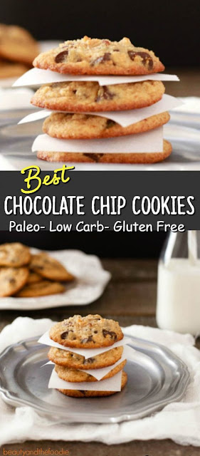 BEST CHOCOLATE CHIP COOKIES PALEO