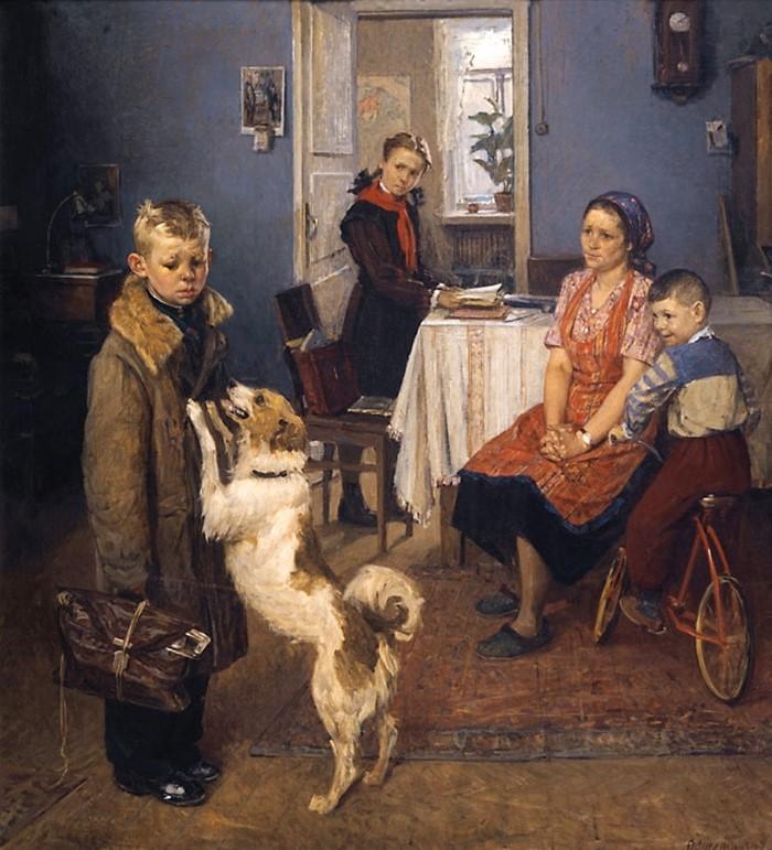 Живопись советских художников и соц-арт 7