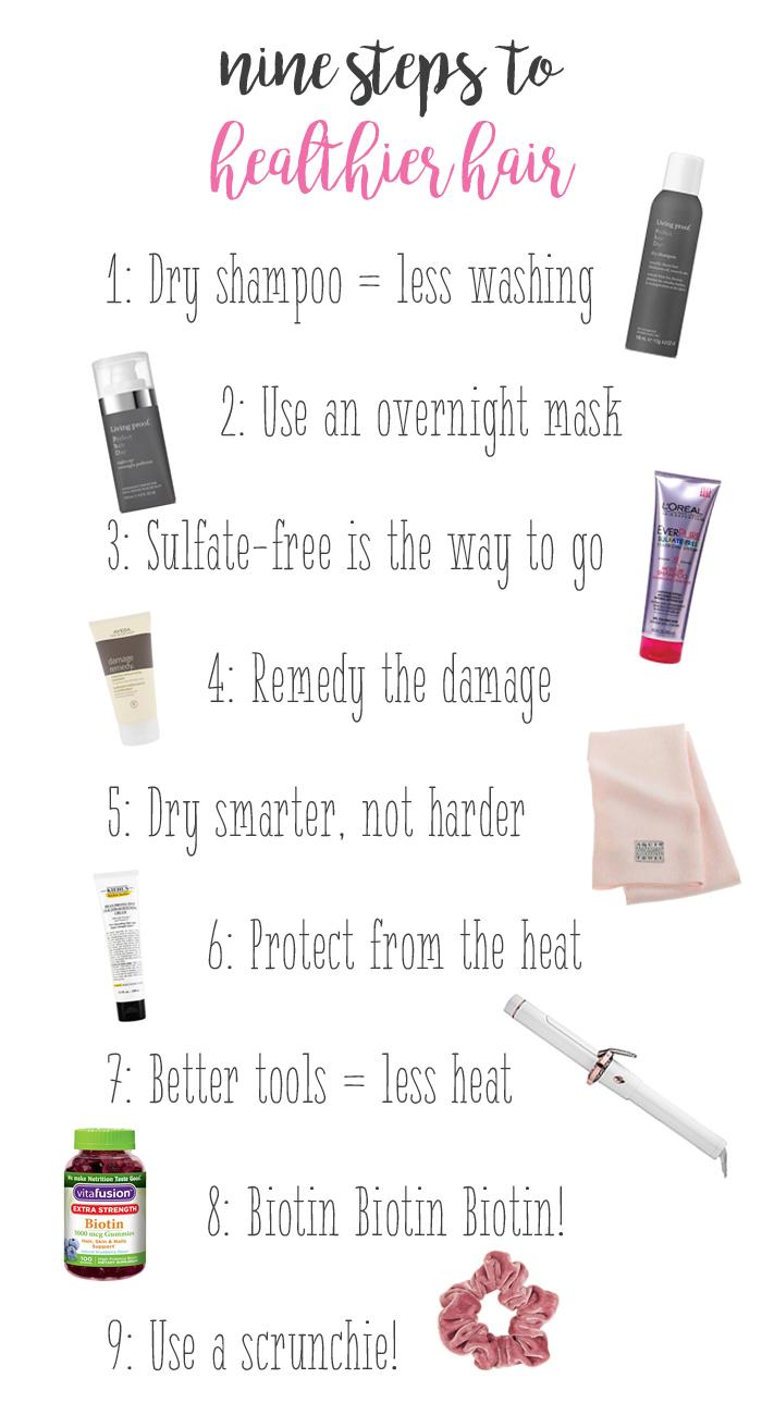 tips for healthier hair