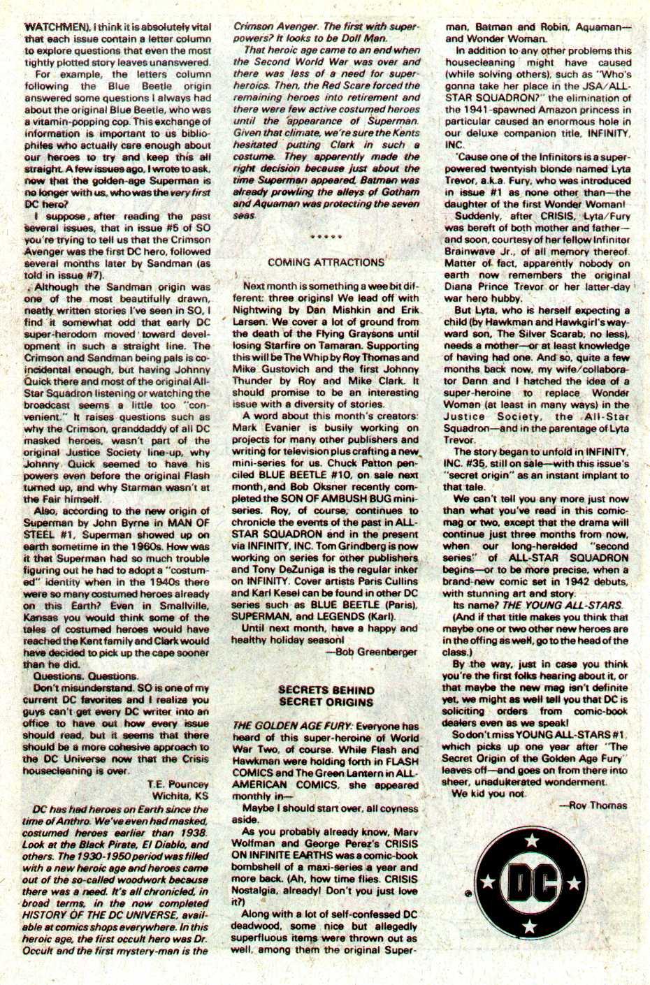 Read online Secret Origins (1986) comic -  Issue #12 - 43
