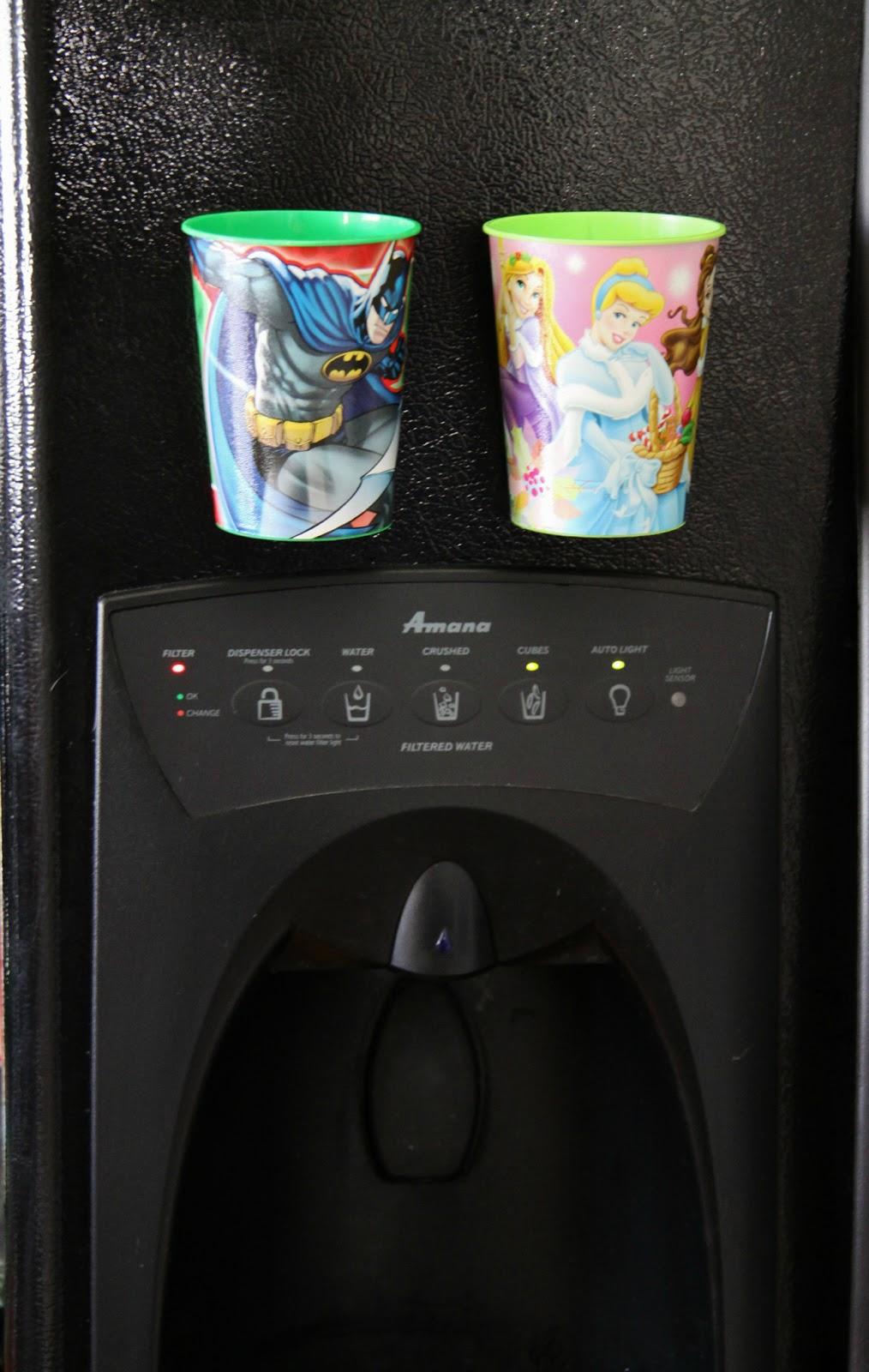 Adventures in Pinteresting: Magnet Cups for the Fridge