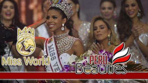 Isabella Rodríguez es Miss World Venezuela 2018