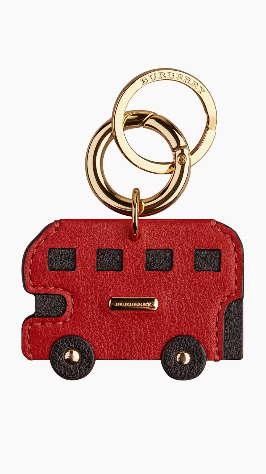 Burberry's British-themed Key Fobs