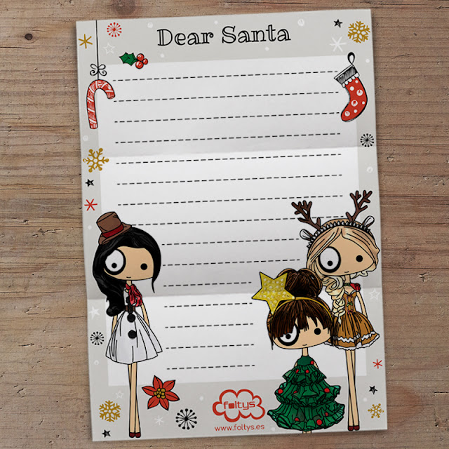 foltys vs santa claus 2016 (carta descargable gratis | letter freebie)