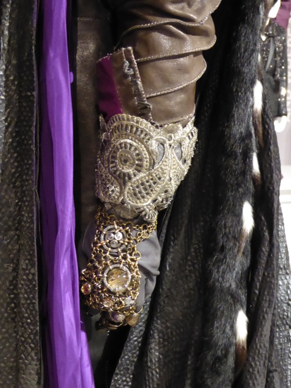 Time clockwork glove detail Alice Looking Glass