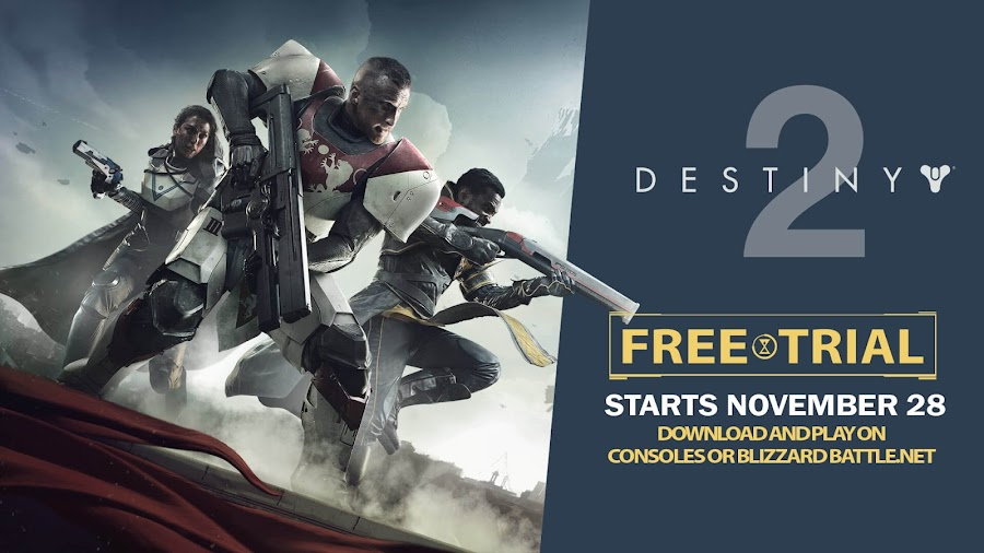destiny 2 free trial pc