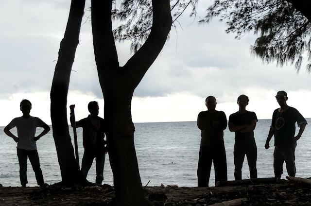 siluet foto di Pulau Tidung