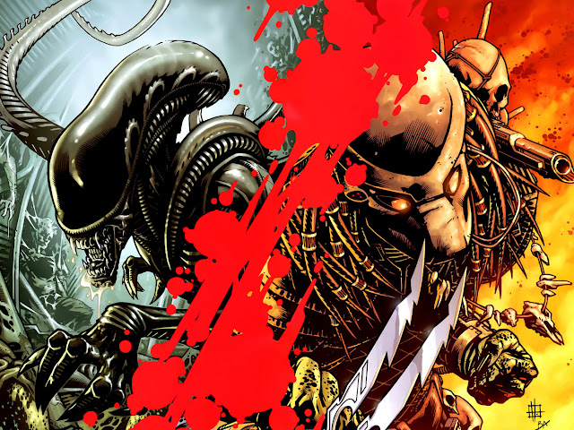 avp dark horse comics
