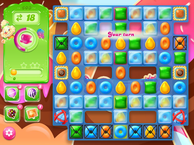 Candy Crush Jelly Saga level 603