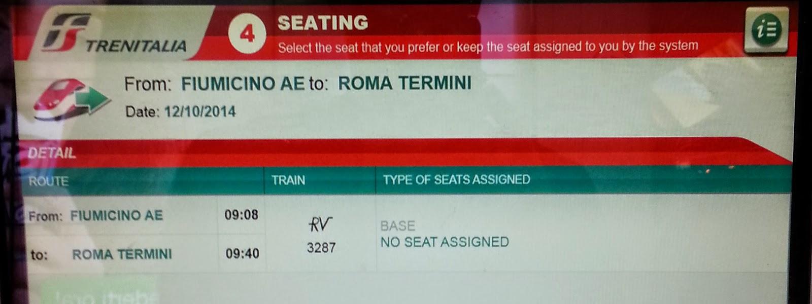 來去玩: 如何使用義大利鐵路自動售票機(How to Use Trenitalia Ticket Machine)