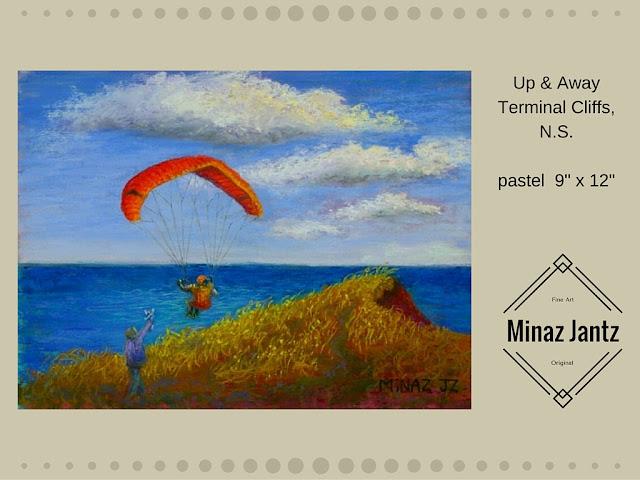 Up & Away by Minaz Jantz