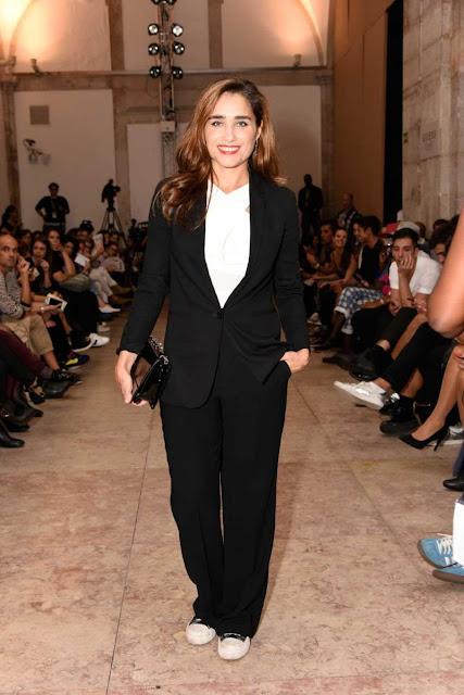 Look das famosas na 46ª Edição da Moda Lisboa