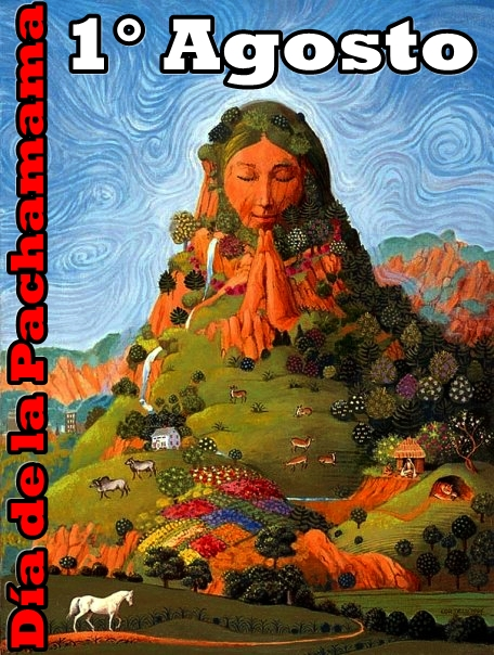 Prensa Libre Pueblos Originarios 1 De Agosto Ritual De