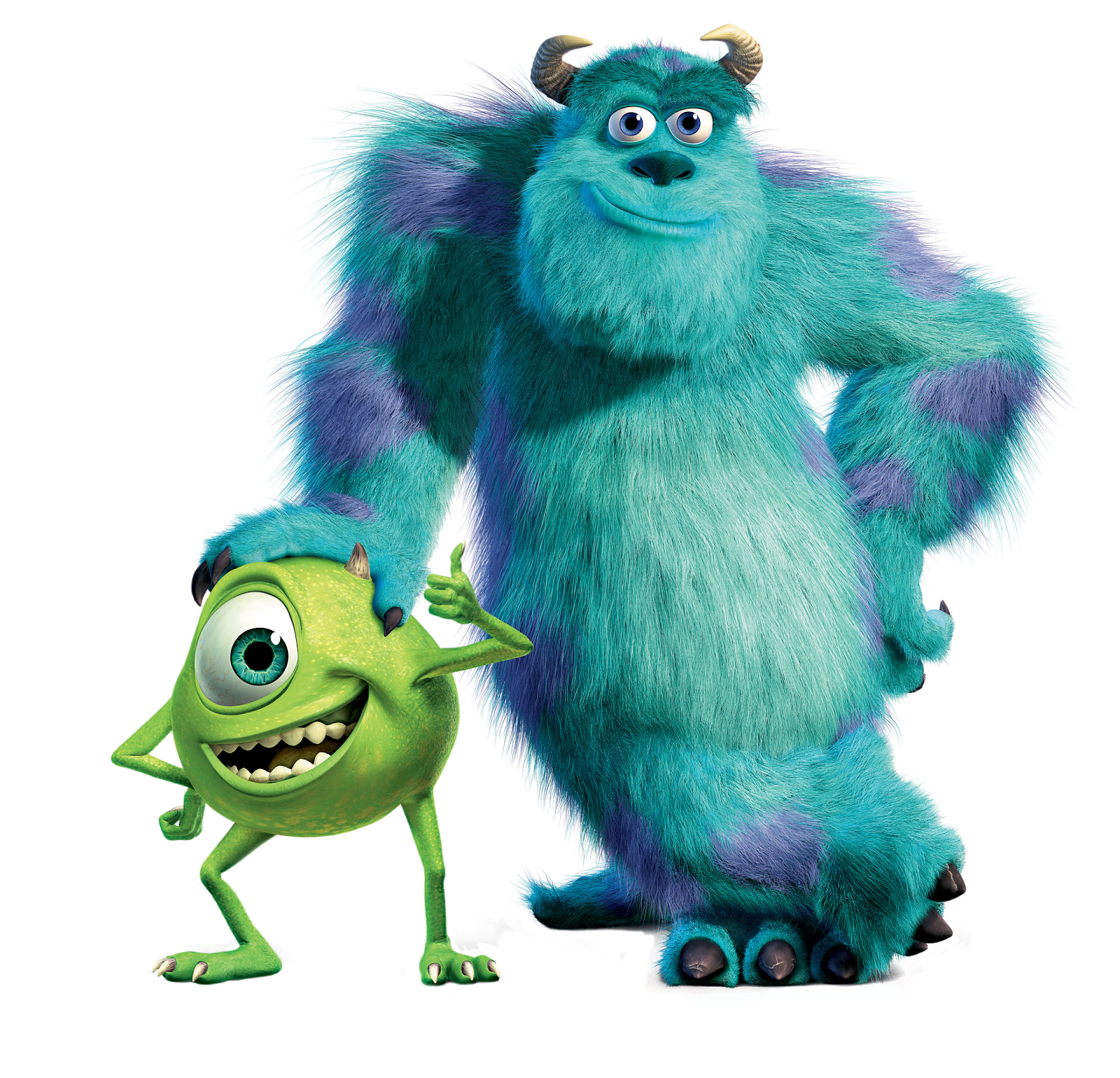 Cartoon Characters Monsters Inc Png