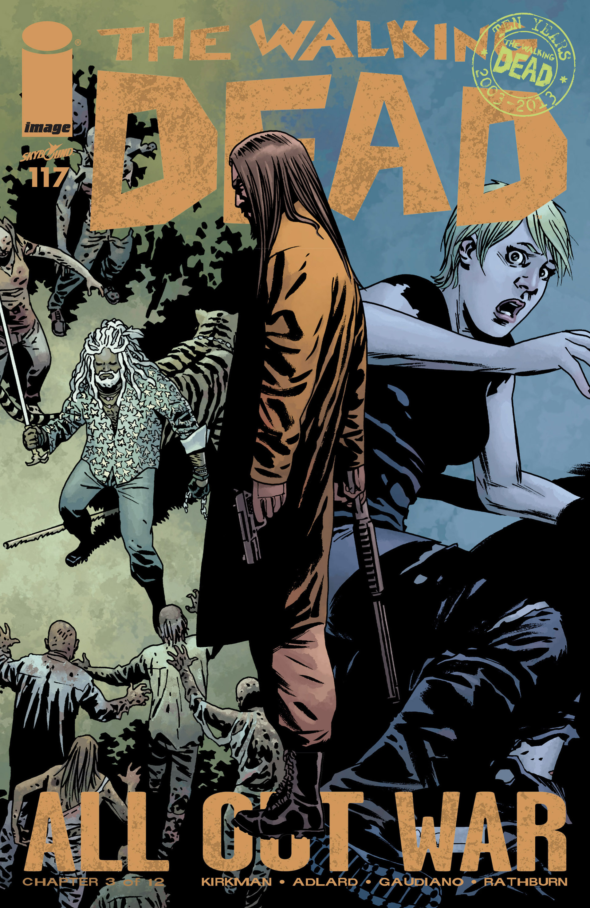 The Walking Dead 117 Page 1