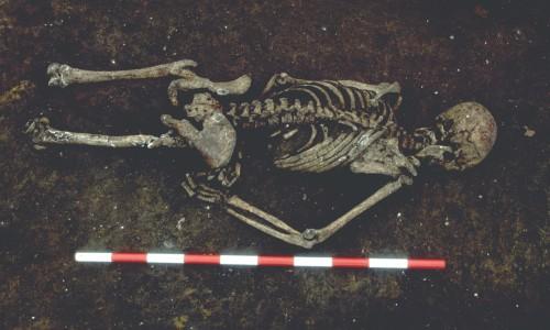 Αρχαίος σκελετός αποκαλύπτει ταφικά έθιμα του 4ου αιώνα