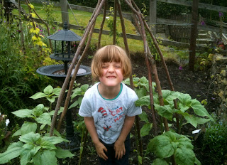 A cottage garden can be fun for kids too.