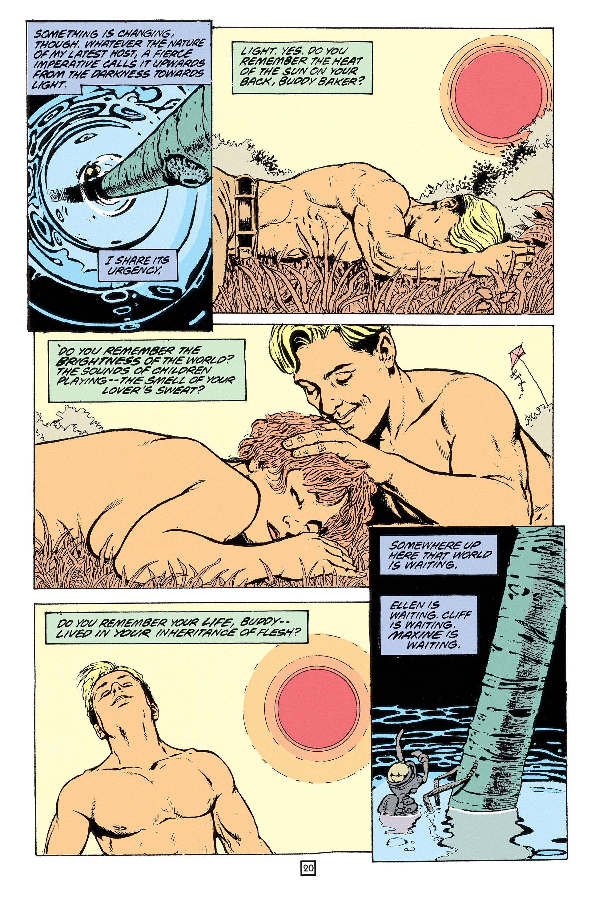 Read online Animal Man (1988) comic -  Issue #53 - 21