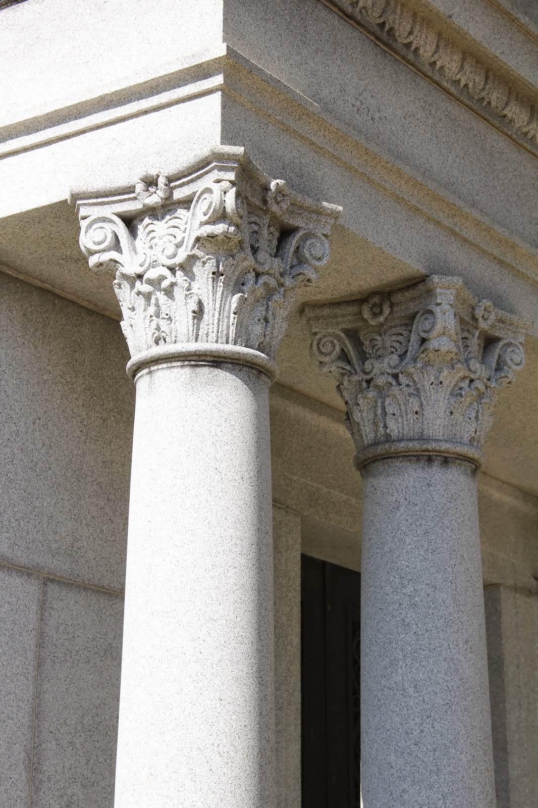 Taphophile Corner Classical Architecture In The Cemetery