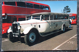 Rhyl Brookes Brothers bus charabanc coach