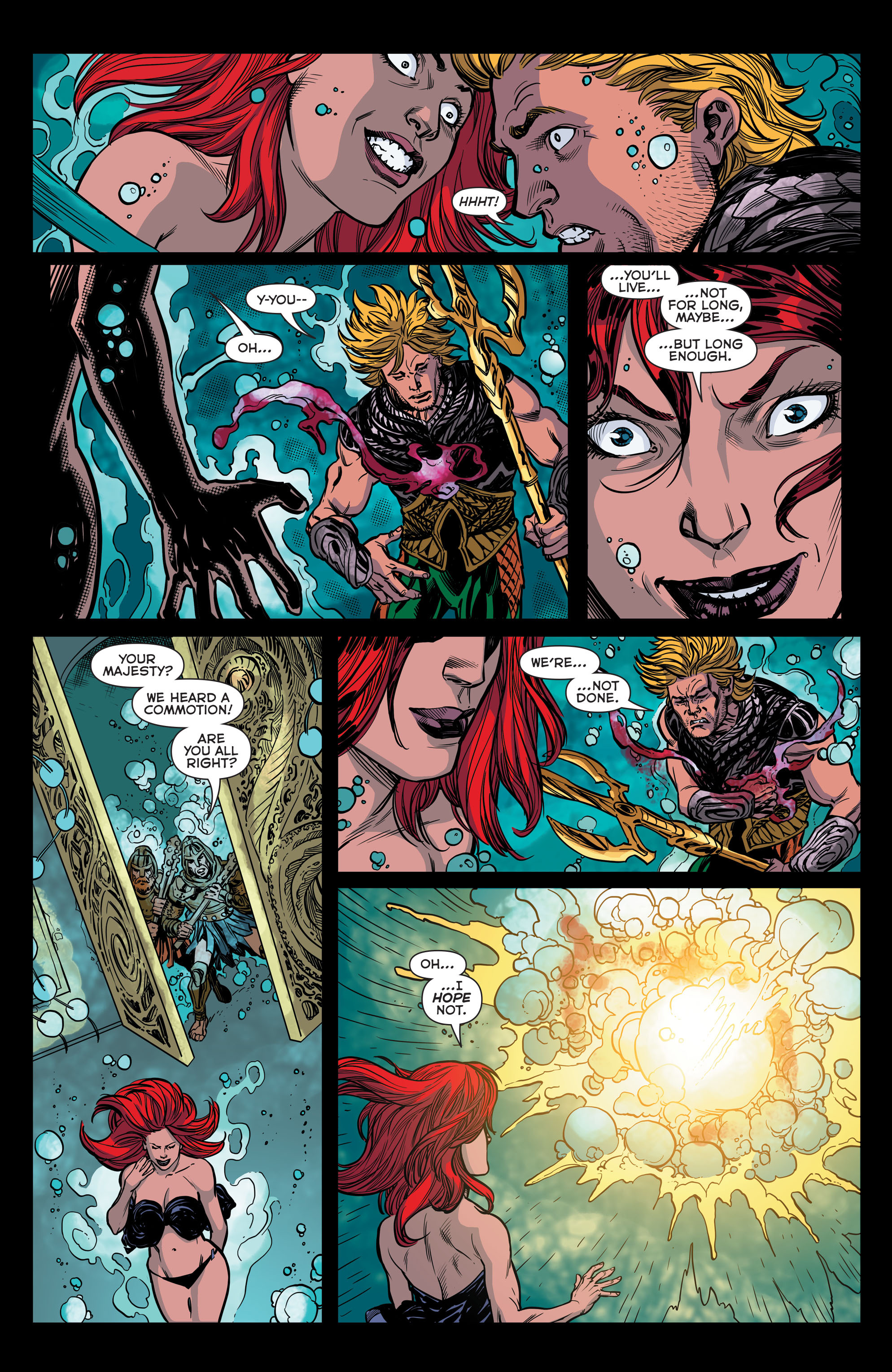 Read online Aquaman (2011) comic -  Issue #44 - 21