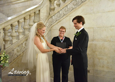 St Louis City Hall Elopement ring ceremony