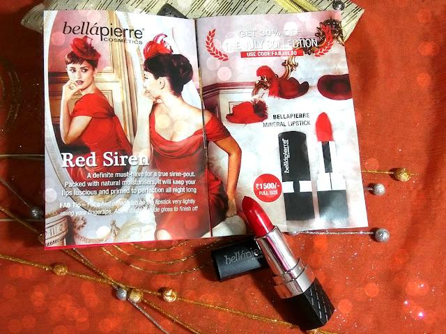 bellepierre lipstick ruby