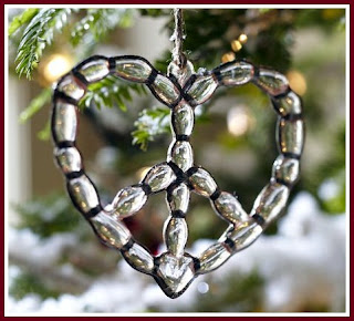 How to Make a Beaded Heart Ornament