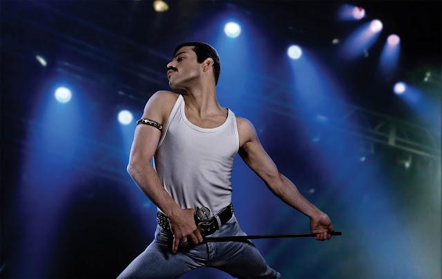 Rami Malek as Freddie Mercury - Bohemian Rhapsody