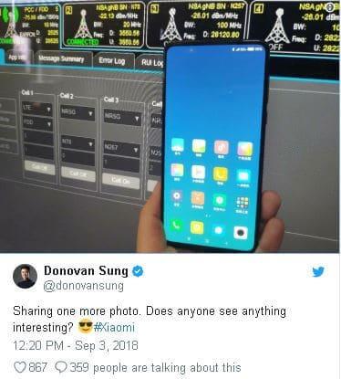 شاومي تطلق نسخة الـ 5G من موبايل مي ميكس 3