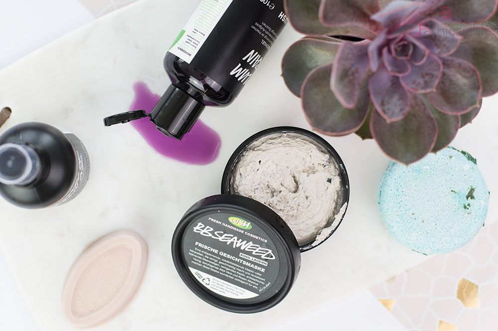 Lush Sommer Top 5 Flatlay